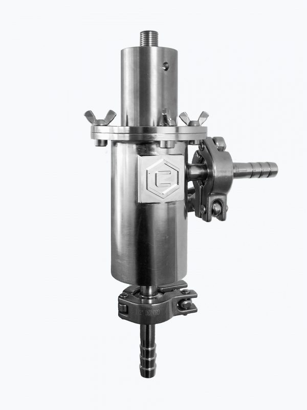 Ultrasonic Reactor Chamber & 1.5 High-Gain Horn